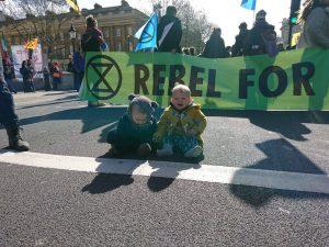 Extinction Rebellion, desobediencia civil noviolenta como única salida a la crisis ambiental