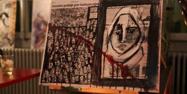 Zehra Doğan: ζωγραφίζοντας με μέλι, φρούτα και αίμα