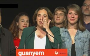 Ada Colau loses the mayor's office in Barcelona. Municipalism cannot surrender