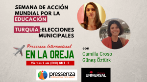 Derecho a la Educación y elecciones en Turquía en @RadioPressenza – 26/04/2019