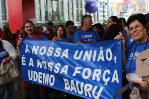 Brasil: Manifestação em apoio à Greve Nacional da Educação