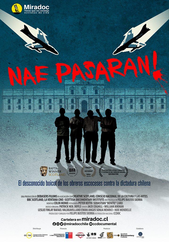 Nae pasarán!, ganador de un Bafta, se estrena en Chile