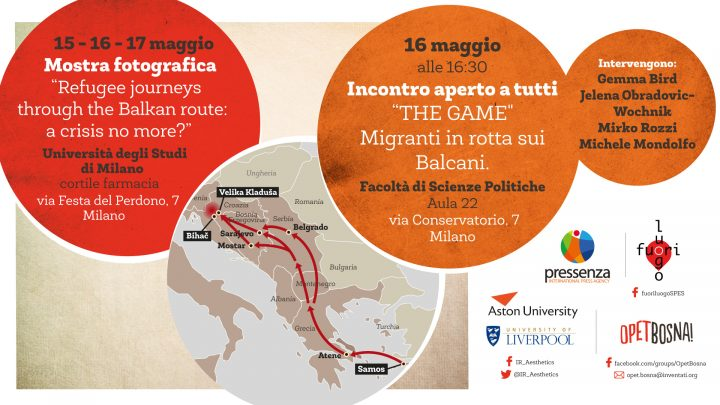 Milán, dos iniciativas para el viaje de los migrantes a lo largo de la ruta de los Balcanes