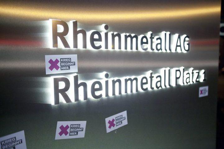 Rheinmetall entrüsten