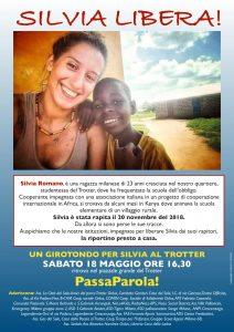 18 maggio, girotondo per Silvia Romano