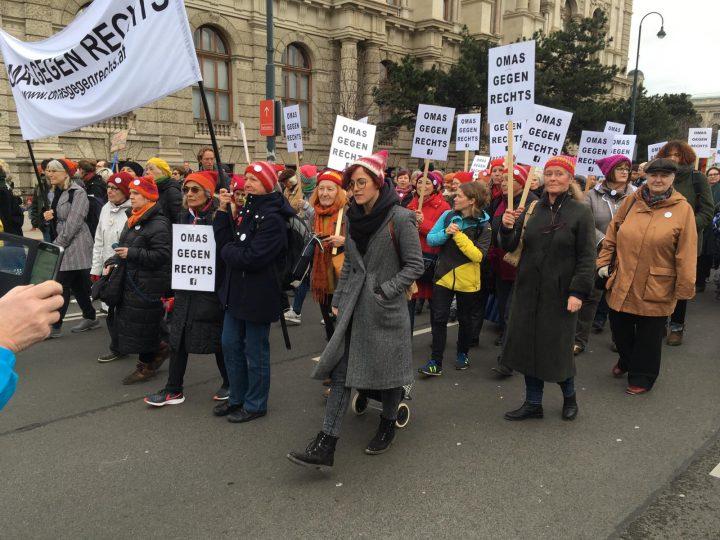 Βιέννη: γιαγιάδες εναντίον των ακροδεξιών κομμάτων