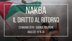 Nakba – Il Diritto Al Ritorno