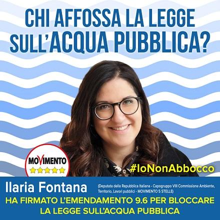 #iononabbocco, ultima puntata: campagna sull'affossamento della legge #acquapubblica
