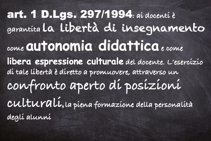 Solidarietà alla docente di Palermo sanzionata dal provveditorato per reato d'insegnamento