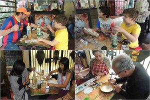 Objetos reciclados adornan casas y vidas de madres en Ecuador (+Foto)