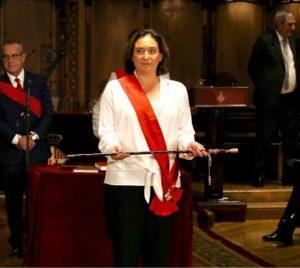 Ada Colau riconfermata sindaca di Barcellona
