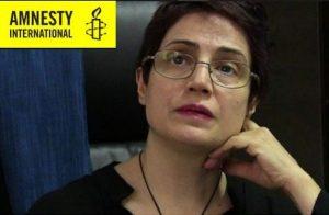 Nasrin Sotoudeh: Amnesty consegna le firme per la sua scarcerazione