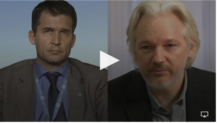 "U.N. Special Rapporteur Calls for Julian Assange to Be Freed, Citing ""Psychological Torture"""