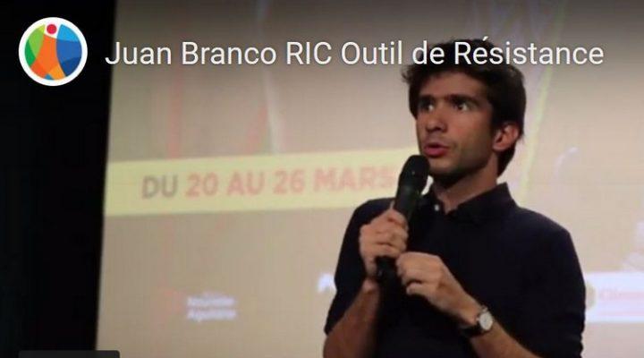 Juan Branco : RIC Outil de Résistance