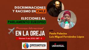 Discriminaciones en Chile y las elecciones europeas en @RadioPressenza – 31/05/2019