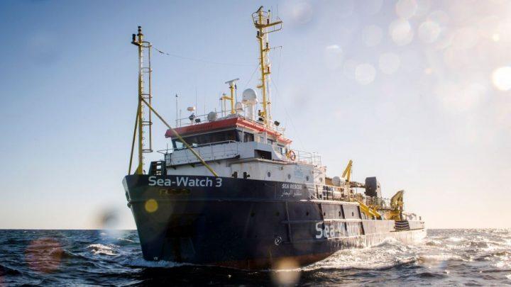 Humanitäre Notlage an Bord der Sea-Watch 3