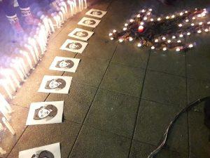 Velatón en todo Chile por el crimen impune de Nicole Saavedra