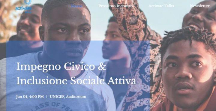 Al via agli Activate Talks, ilformat di UNICEFper dar voce ai giovani