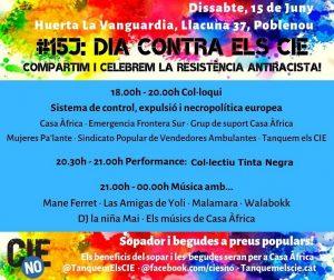 15J, un dia de lluita contra els CIE arreu de l'Estat