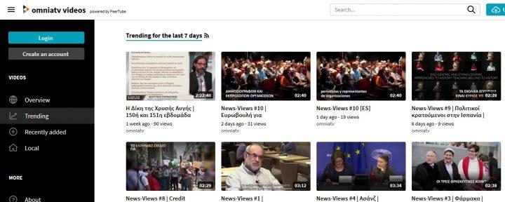 [Pressenza Griechenland] Vimeo schließt unser Konto und schickt uns, glücklicherweise, an PeerTube