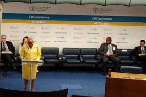Graça Machel califica de vergonzoso fracaso mundial contra el hambre