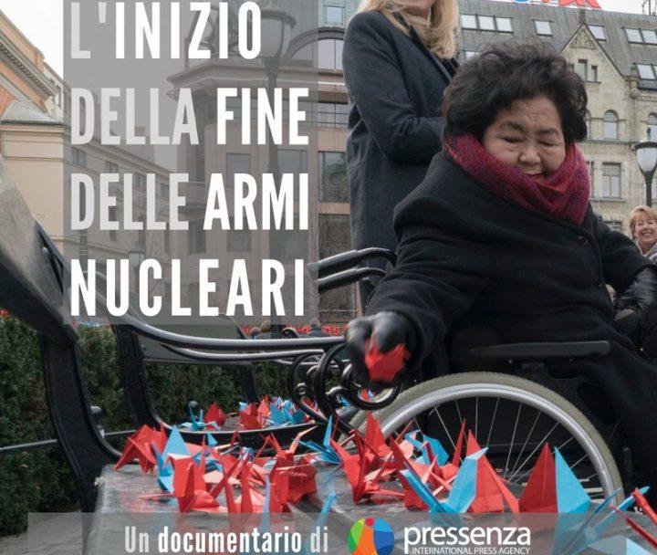 Pronta la versione italiana del documentario di Pressenza contro le armi nucleari