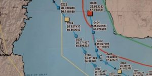 L'Iran pubblica una mappa dettagliata con il percorso, la posizione e il punto dove è stato abbattuto il drone statunitense