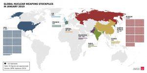 Ο εκσυγχρονισμός των παγκόσμιων πυρηνικών δυνάμεων συνεχίζεται παρά τη γενική μείωση του αριθμού των πυρηνικών κεφαλών