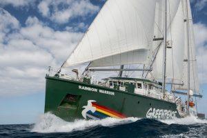 """Torna in Italia la Rainbow Warrior. La Sicilia tappa del tour europeo """"United for climate"""""""