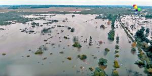 Ciclone extratropical deixa mais de 8 mil uruguaios desalojados