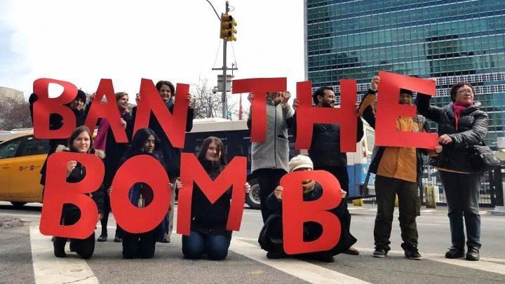 Verbot von Atomwaffen einzige Antwort auf nukleares Wettrüsten