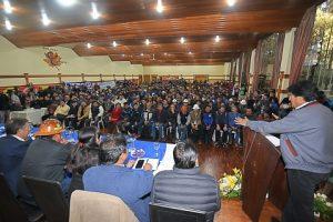 Morales dice que los movimientos sociales son «libertadores» de Bolivia y pide no claudicar ante embestida de la oposición