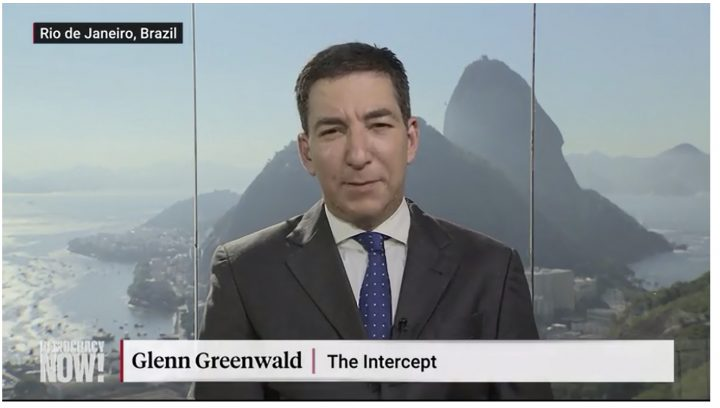 Despite Death Threats, Glenn Greenwald Speaks Out About Exposing Large Corruption Scandal in Brazil