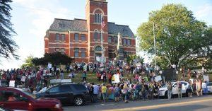 Lights for Liberty Immigrant Rights Vigil