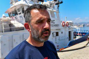 """Íñigo Mijangos (Aita Mari): """"Estamos viviendo una salvinización de los servicios de rescate"""""""