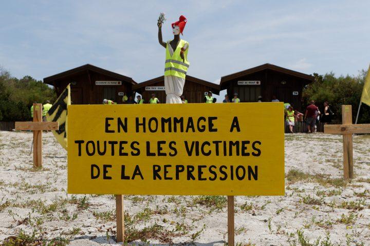 Gilets Jaunes : Mémorial pour les victimes