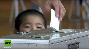 Japan: Referendum in Okinawa zur Verlegung einer US-Militärbasis