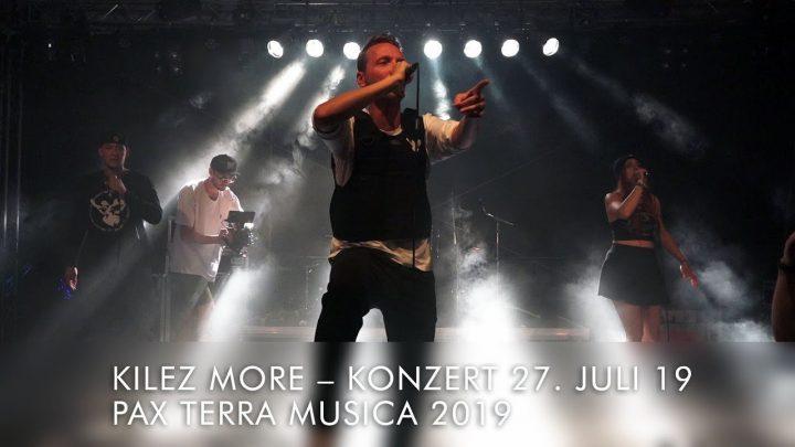 Kilez More – Voice of Peace en el Pax Terra Musica Friedens festival