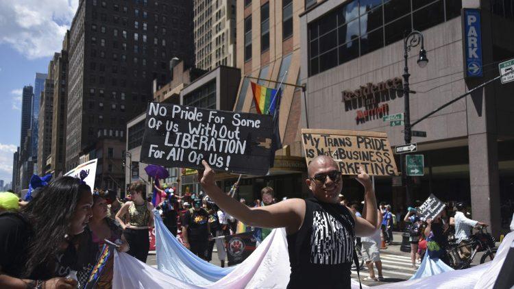 Reclaim Pride NYC 2019 signs – By Ellen Davidson