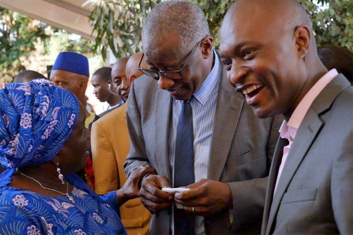 Rencontre avec Sansy Kaba Diakite de la maison d'édition Harmattan Guinée