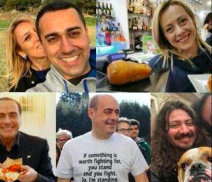 Tra i politicanti del selfie e la realtà dei fatti