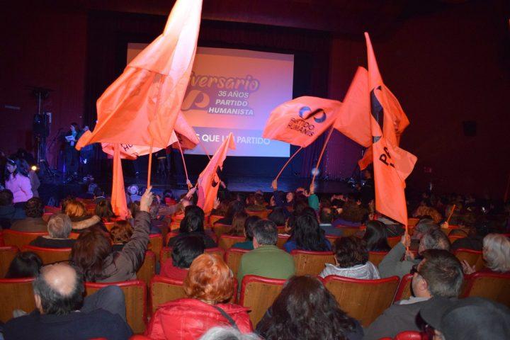 35 anni del Partito Umanista cileno