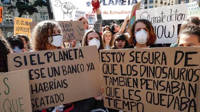 Activistas convocan la primera huelga general mundial para luchar contra el cambio climático