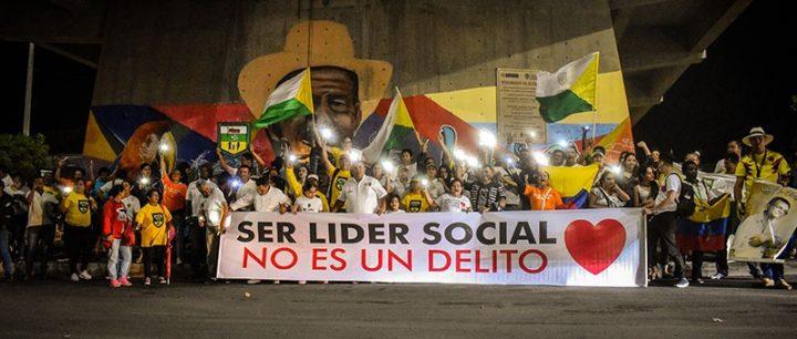 En Imágenes: Así fue la marcha por la vida de los líderes sociales en Colombia