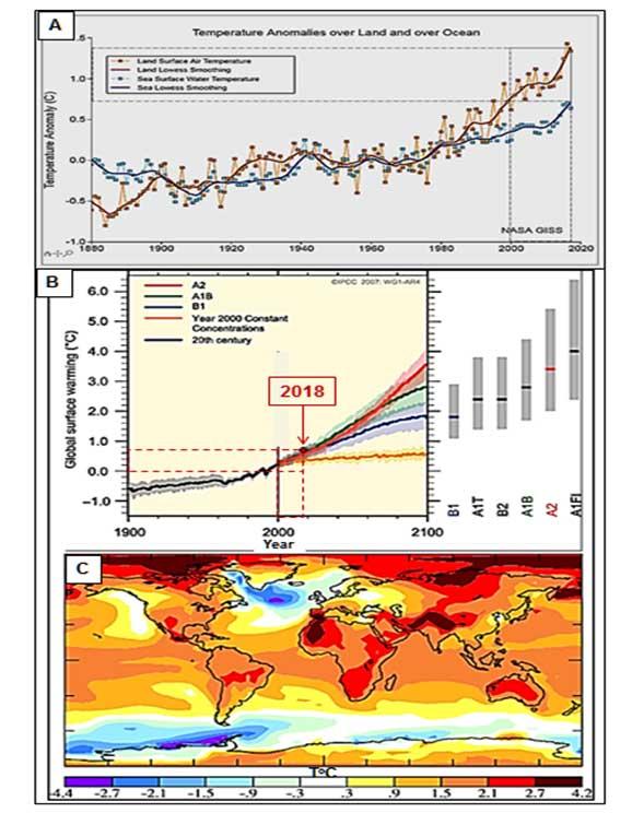 Η αύξηση της θερμοκρασίας θα κοστίζει στην παγκόσμια οικονομία 2,4 τρισ. δολάρια ετησίως, σύμφωνα με τη ΔΟΕ