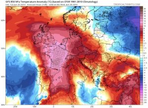 France records hottest temperature ever in European heat wave