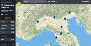 Una mappa per le commemorazioni di Hiroshima e Nagasaki