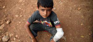 Fuerzas kurdas en Siria acuerdan cese del uso de niños en la guerra