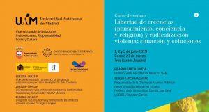 Curso de verano sobre radicalización violenta en la Universidad Autónoma de Madrid
