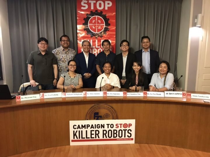 Lanzan en el Sudeste Asiático el capítulo de la Campaña para detener los «KillerRobots»